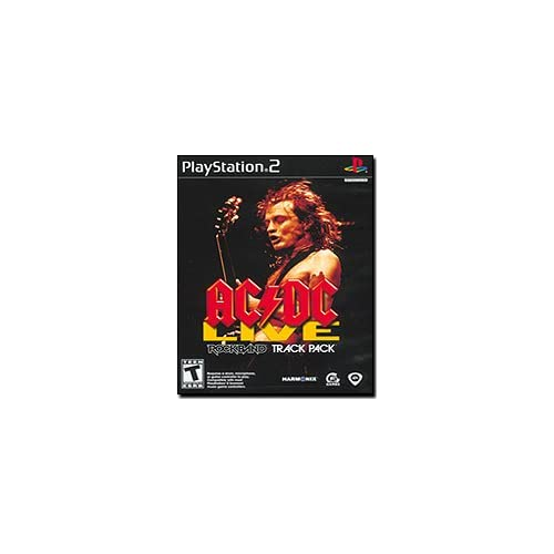 AC/DC Live: Rock Band Track Pack For PlayStation 2 PS2 Music