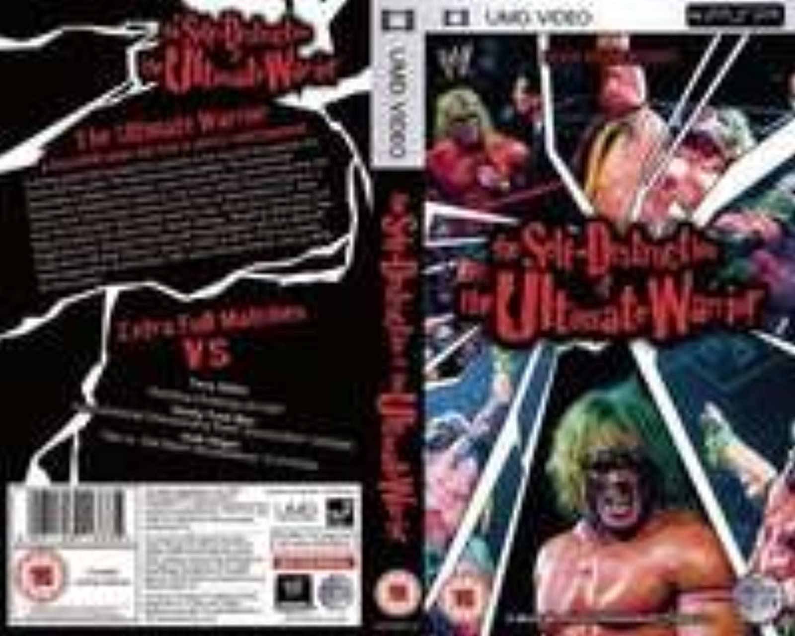 Wrestling Entertainment Ultimate Warrior Self Destruction