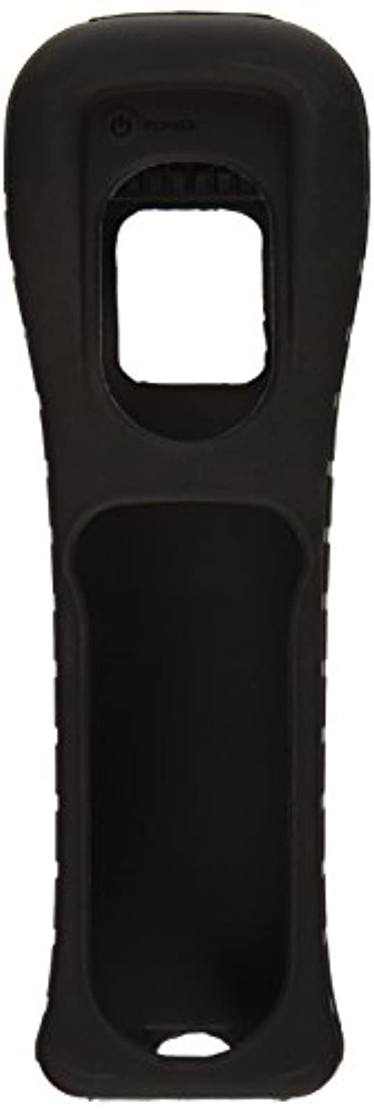 Nintendo OEM Wii Remote Black Jacket Skin Silicone Wiimote Cover