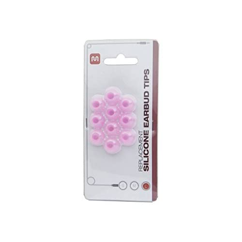11903 5 Pairs Large Replacement Silicone Eartips Pink