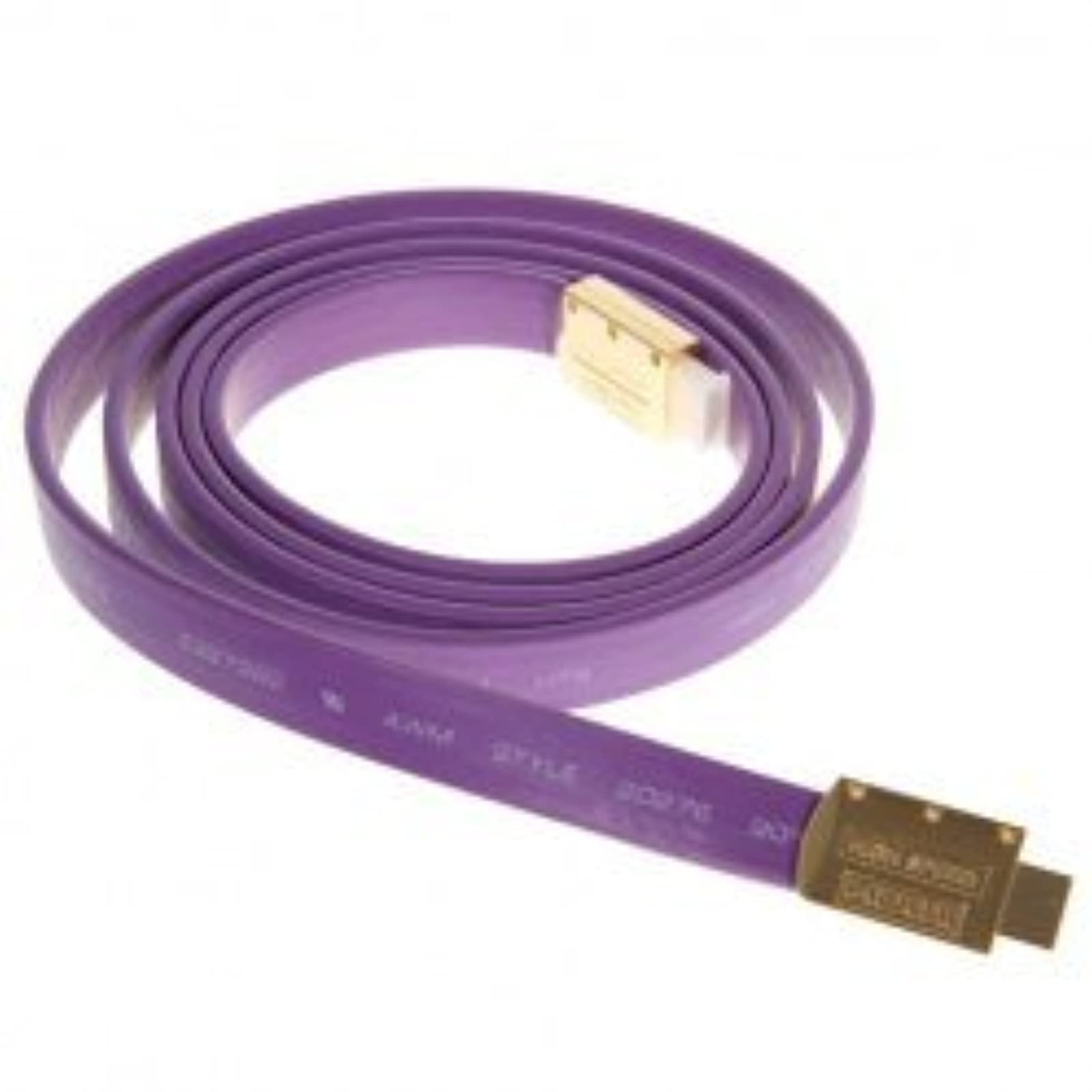 2M 30V Awm 20276 HDMI Flat Cable in Purple