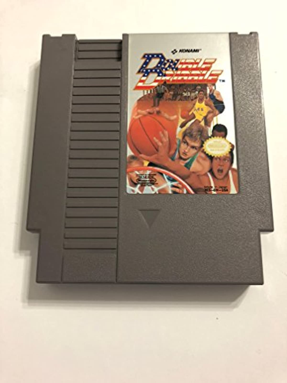 Double Dribble Nintendo NES For Nintendo NES Vintage Basketball