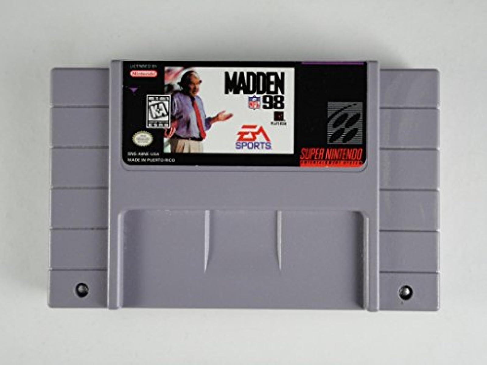 Madden NFL 98 For Super Nintendo SNES Football