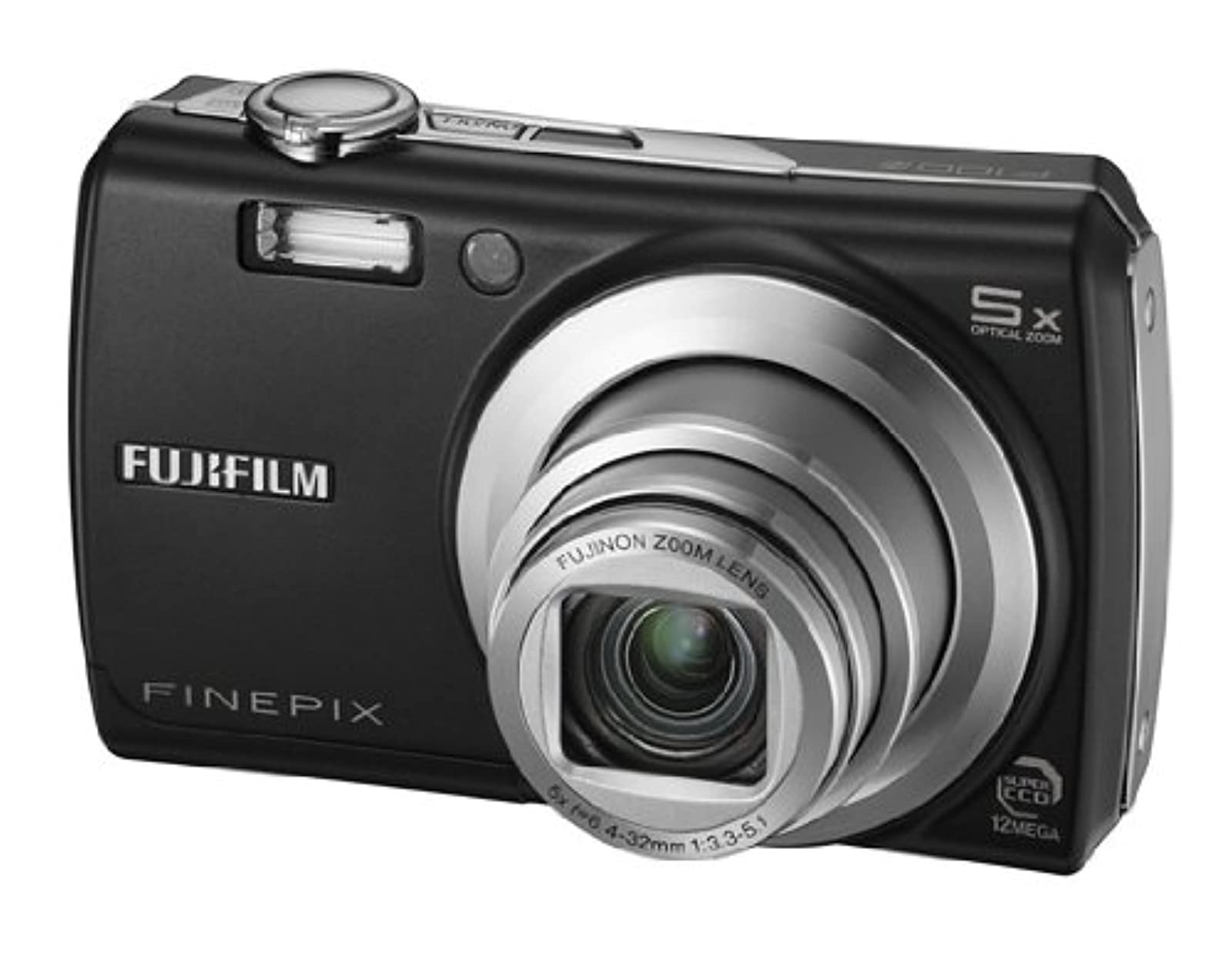FujiFilm FinePix J10 8.2MP Digital Camera With 3X Optical Zoom Matte Black