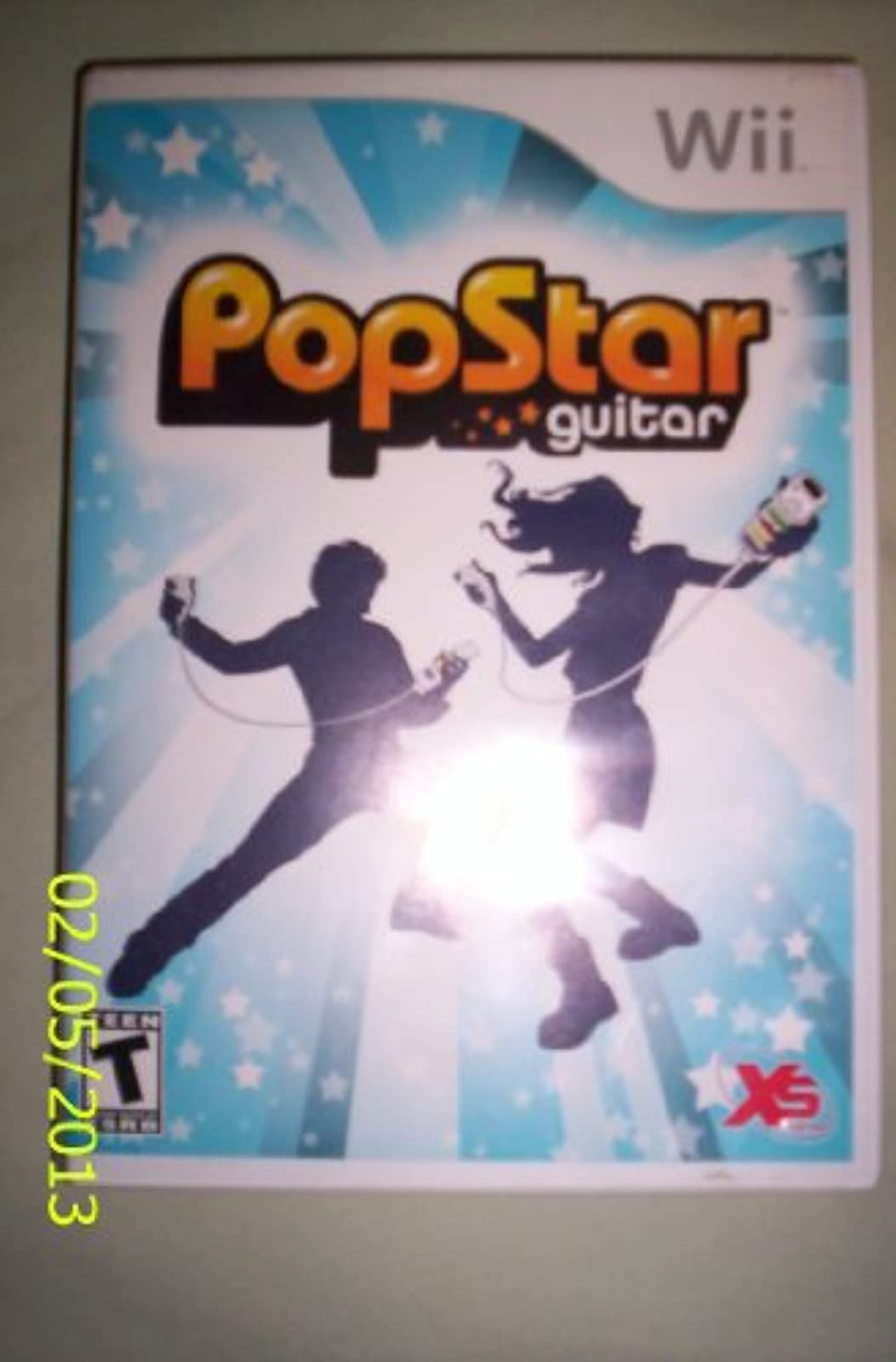 Popstar Guitar For Wii And Wii U