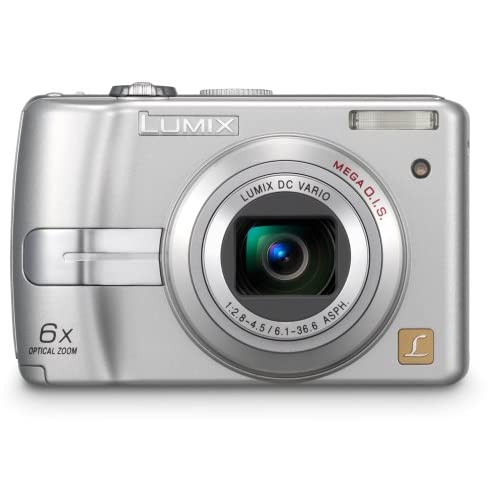 Panasonic Lumix DMC-LZ6S 7.2MP Digital Camera With 6X Image Stabilized Zoom Silv