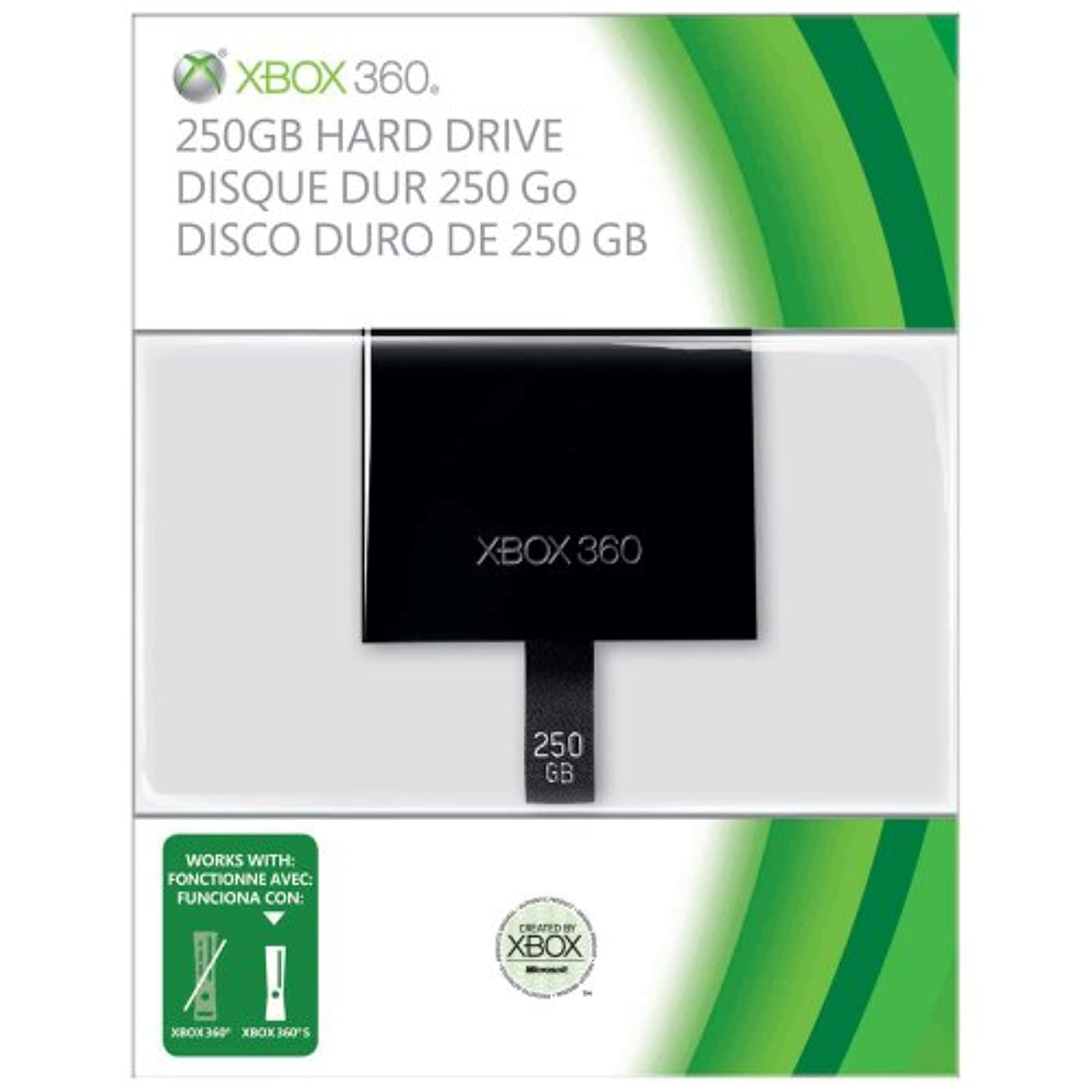 250GB HardDrive Xbox Slim Only For Xbox 360