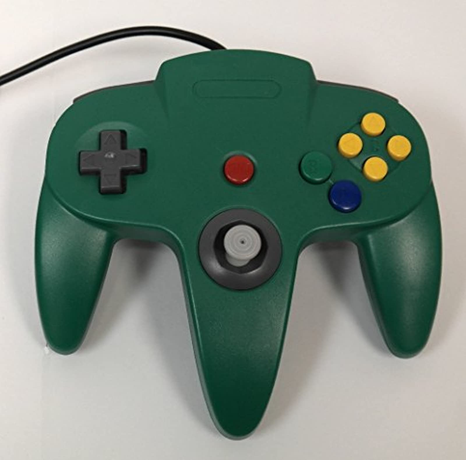 Replacement Nintendo 64 Classic Wired Controller Green For N64