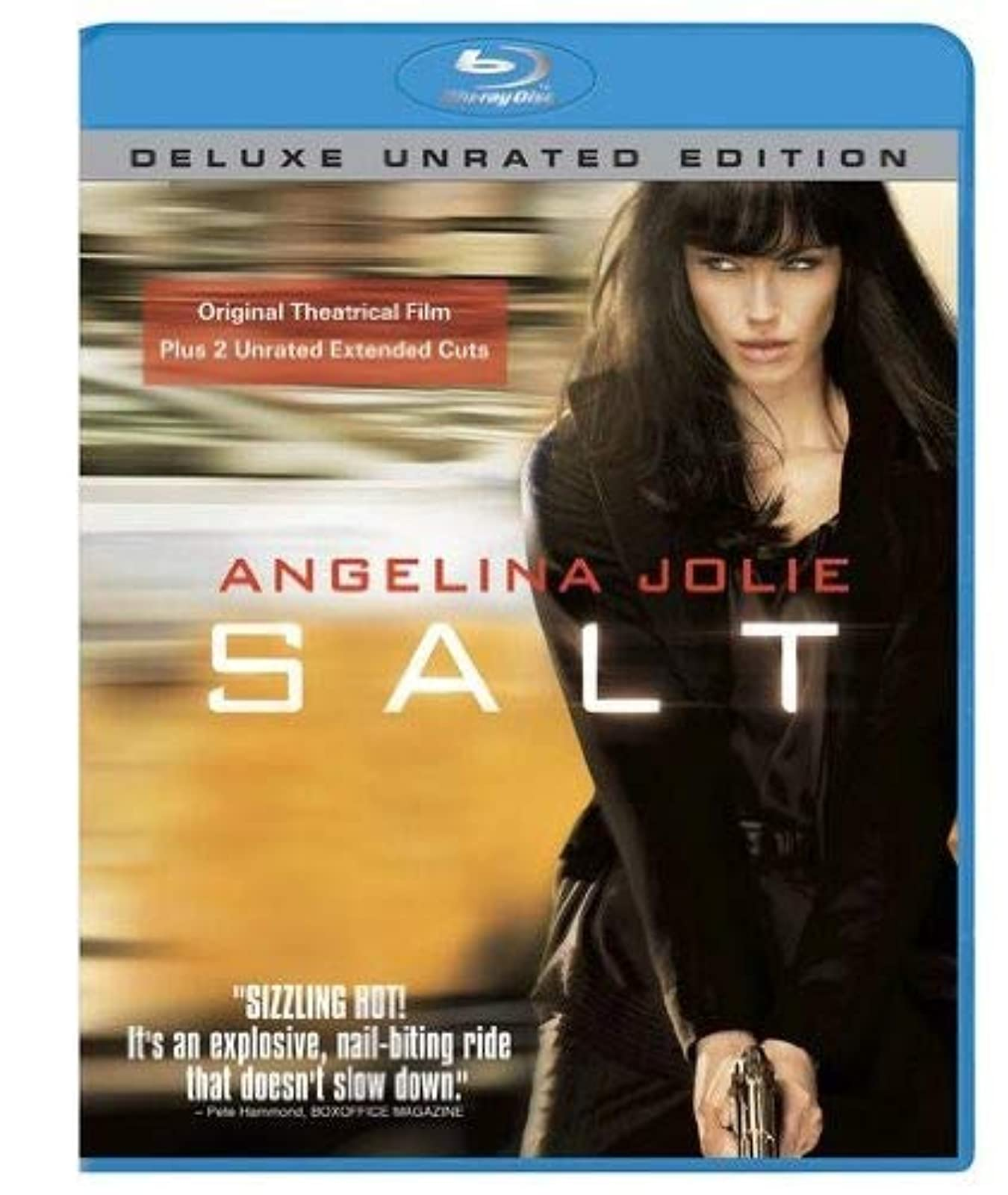 Salt Deluxe Unrated Edition Blu-Ray On Blu-Ray With Angelina Jolie