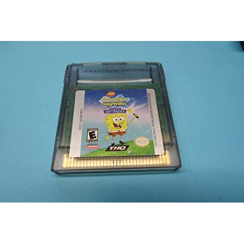 Spongebob Squarepants: Legend Of The Lost Spatula On Gameboy Color