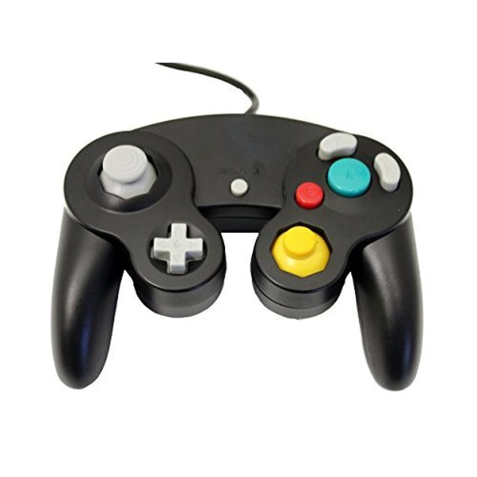 GameCube USB Controller Black For Windows MAC And Linux By Mars