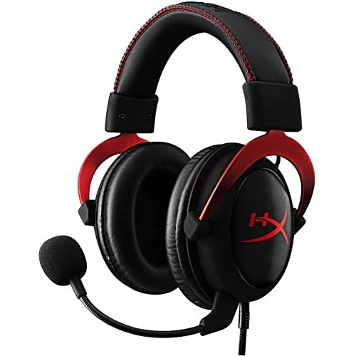 Hyperx Cloud II Gaming Headset 7.1 Surround Sound Memory Foam Ear Pads Durable A