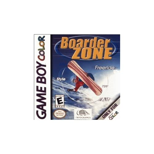 Boarder Zone On Gameboy Color