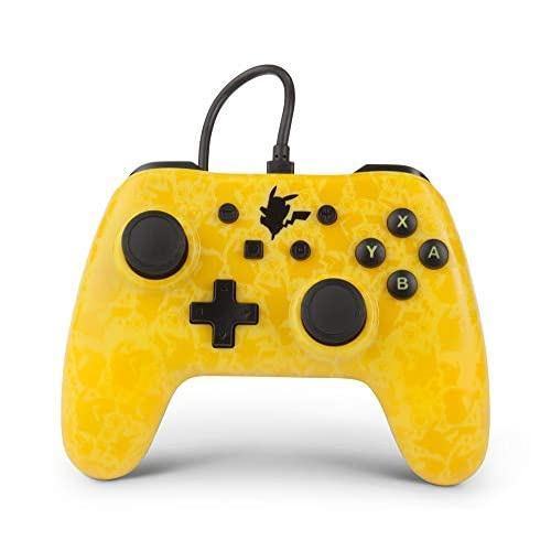 Image 0 of PowerA Pokemon Pikachu Silhouette Controller For Nintendo Switch Yellow