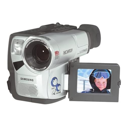 Image 0 of Samsung SCL810 HI8 Camcorder With 2.5 LCD Camera Silver Handheld