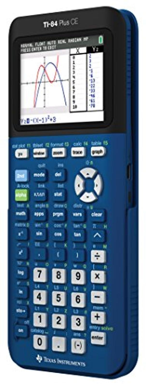 Texas Instruments Ti 84 Plus Ce Denim Graphing Calculator VWG954