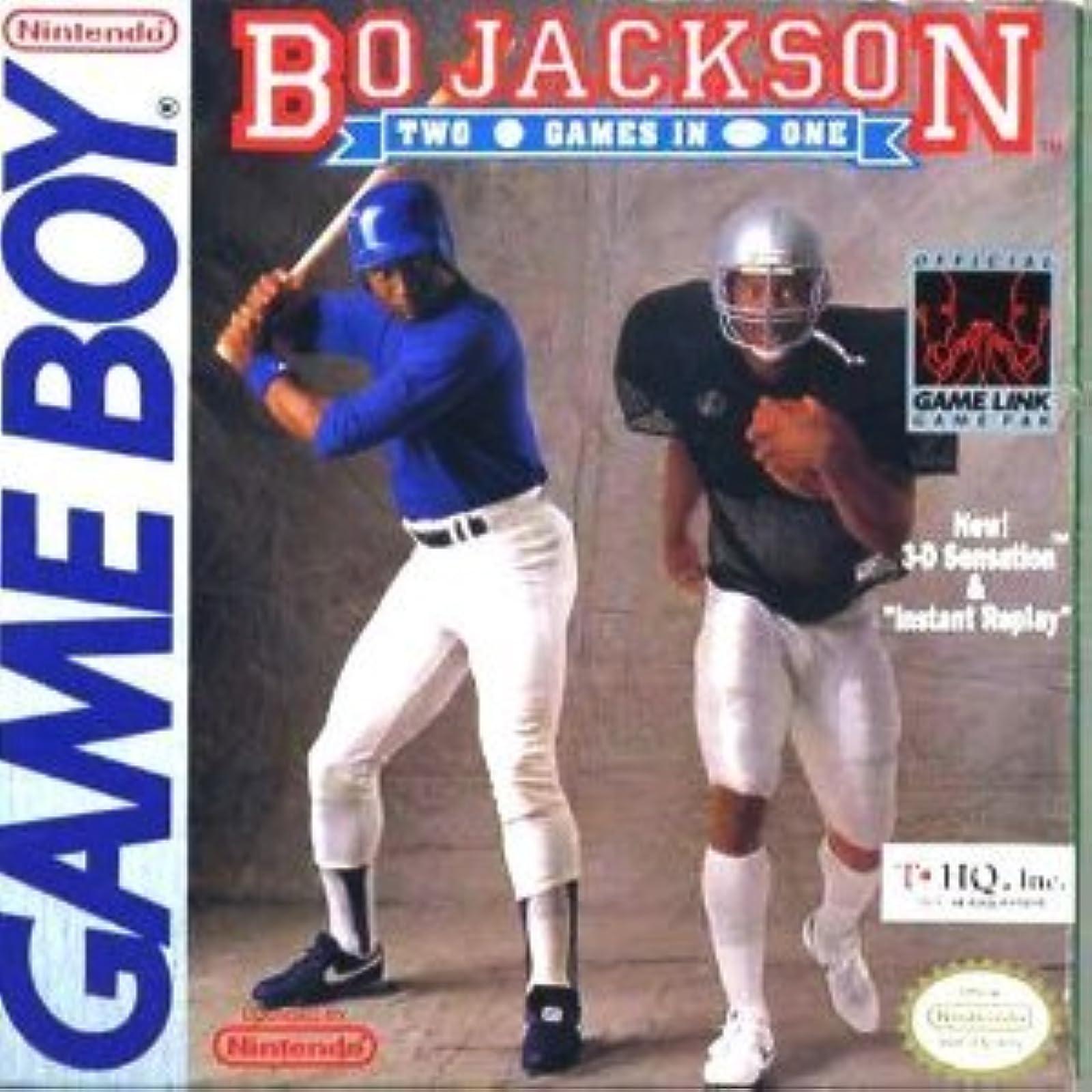 Bo Jackson Baseball And Football For Gameboy