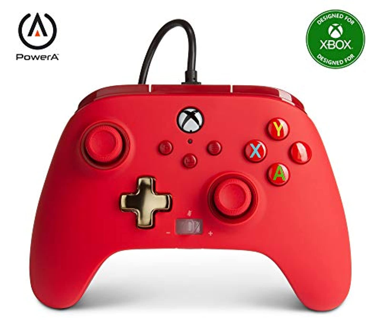 PowerA Enhanced Wired Controller For Xbox Red Gamepad Wired Video Game Controlle