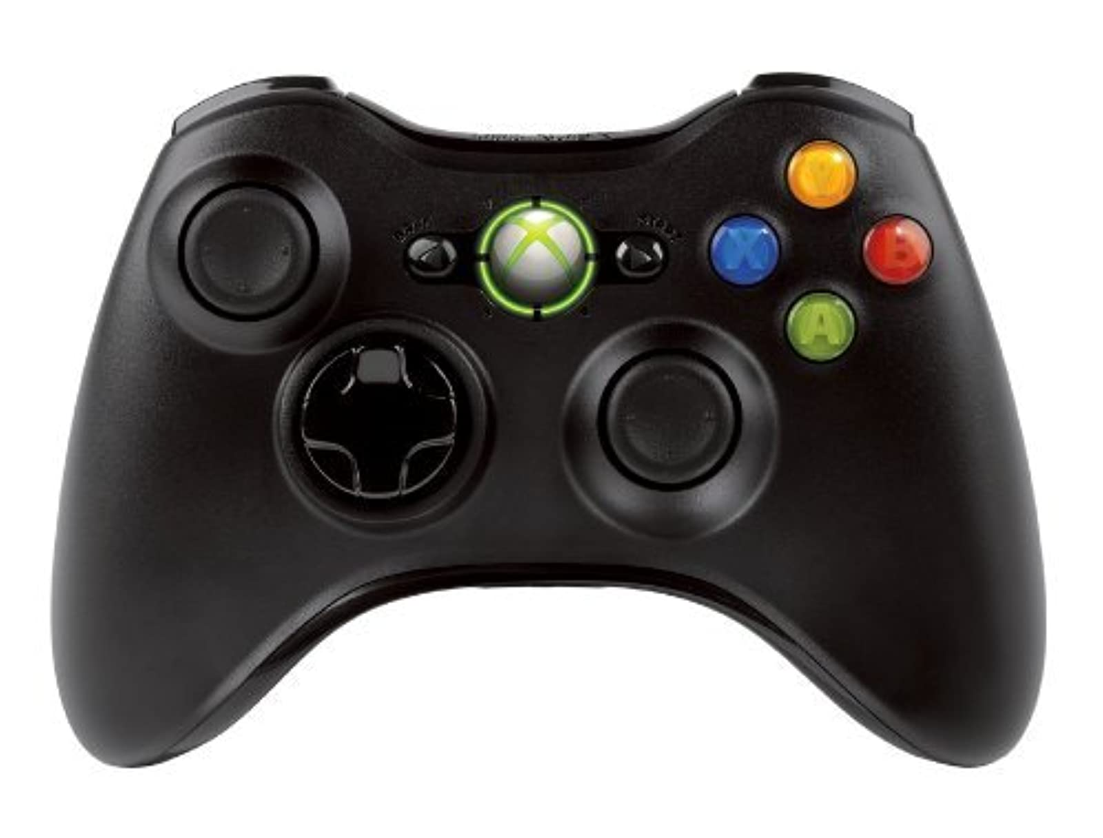Image 0 of Microsoft Wireless Controller Black For Xbox 360