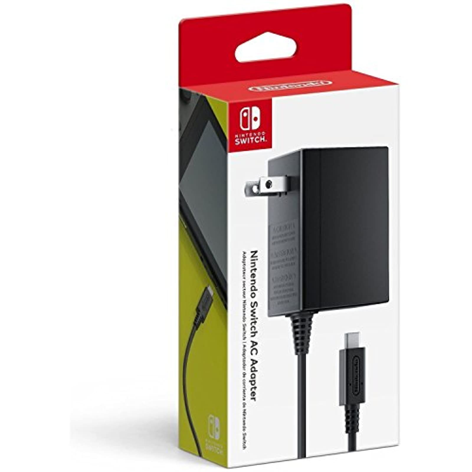 Nintendo OEM Switch And Switch Lite AC Power Adapter Supply USB C For Nintendo S