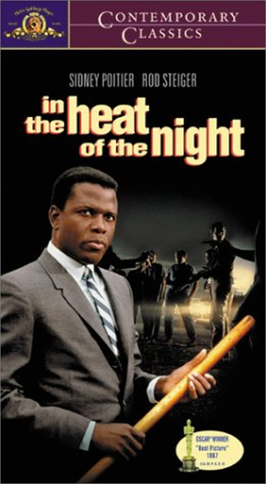 In The Heat Of The Night VHS On VHS With Sidney Poitier