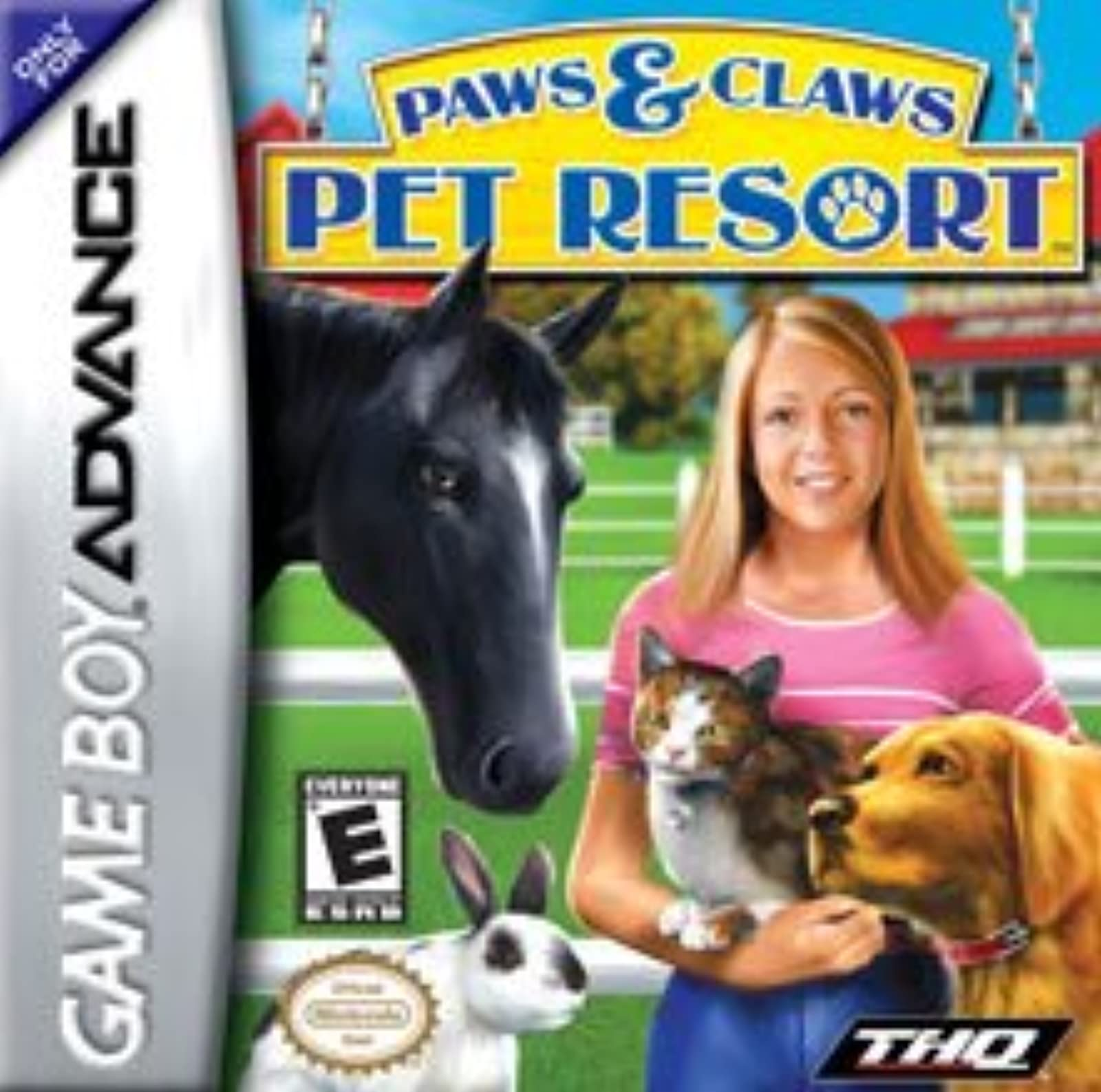 Paws And Claws: Pet Resort For GBA Gameboy Advance