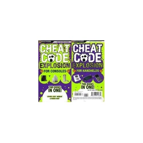 Cheat Code Explosion For Handhelds And Consoles Strategy Guide