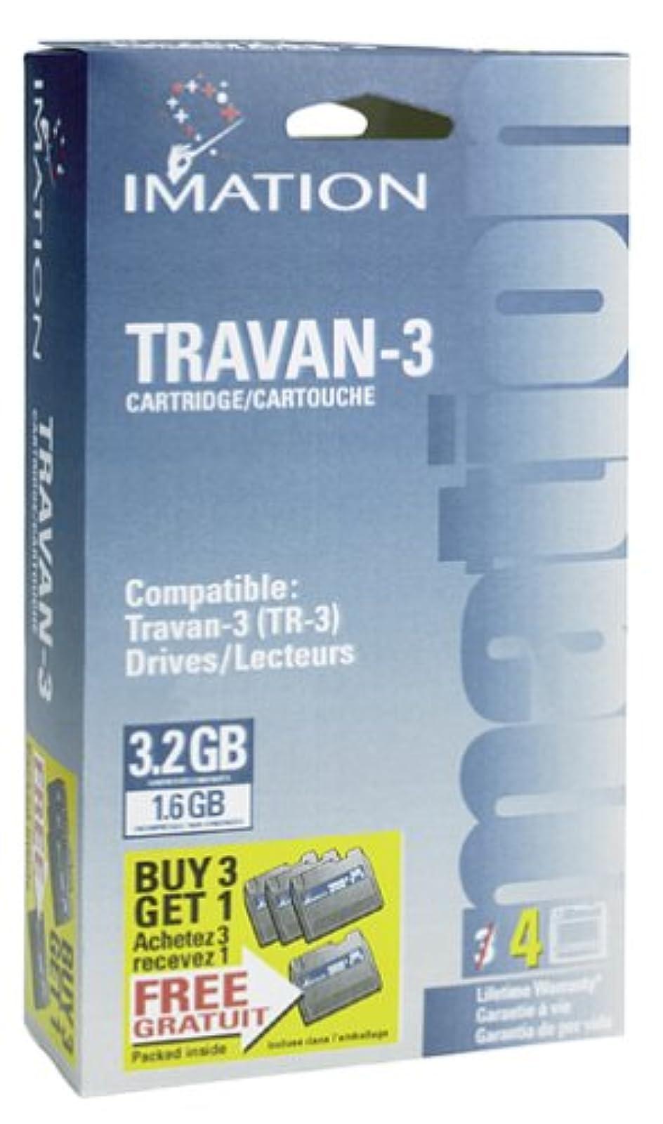 Imation TRAVAN-3 Data Cartridge 3.2GB Single