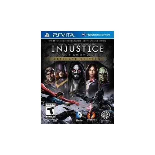 Injustice: Gods Among US Ultimate Edition PlayStation Vita Standard Edition For