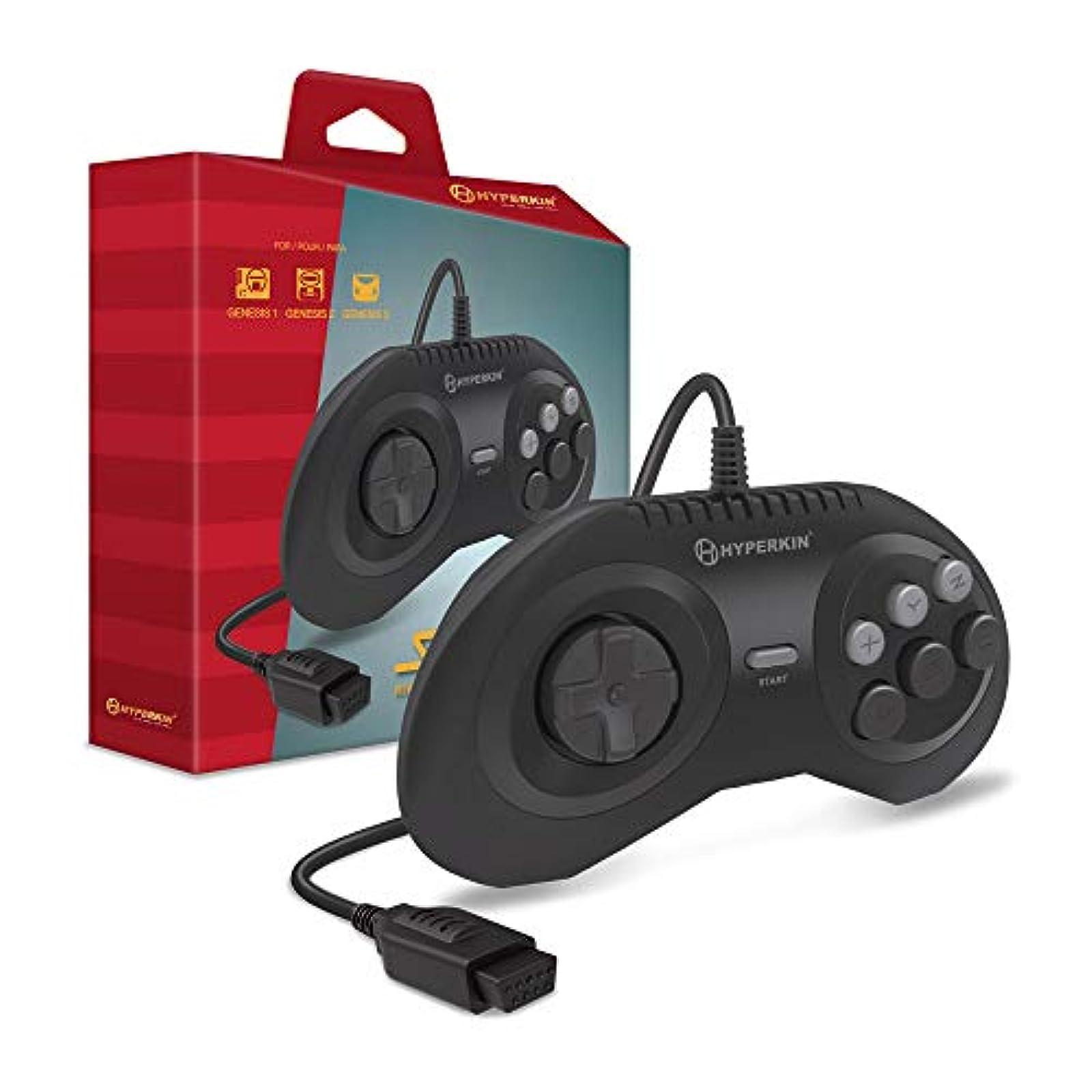 Hyperkin Squire Premium Controller For Genesis/ Megaretron HD Consoles Sega 1 2
