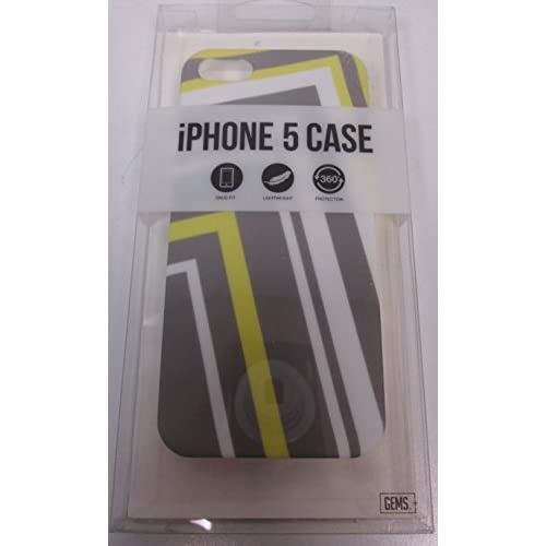 Image 0 of Gems iPhone 5 5S SE Case Multi-Colored Angles Cover Fitted  Multicolor Hard