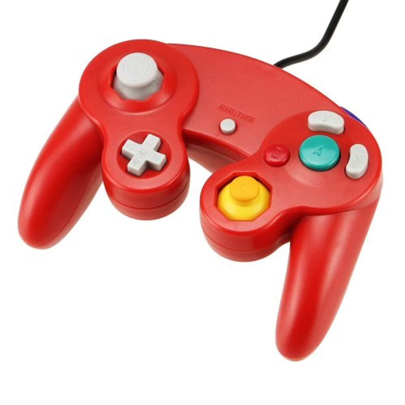 Game Controller Pad For Nintendo GameCube GC Wii Red