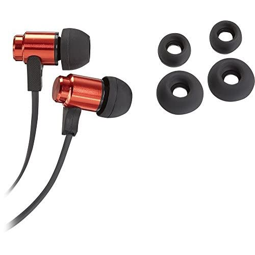 Insignia Stereo Earbud Headphones Red Earphones