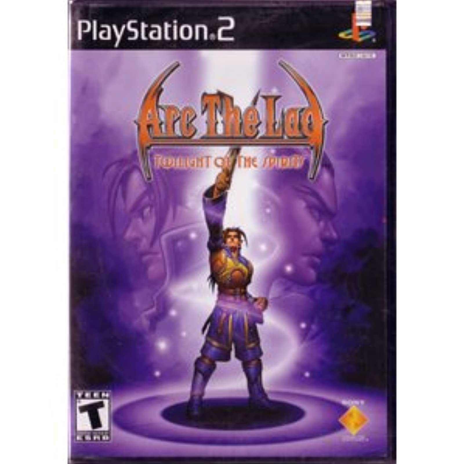 Arc The Lad Twilight Of The Spirits For PlayStation 2 PS2