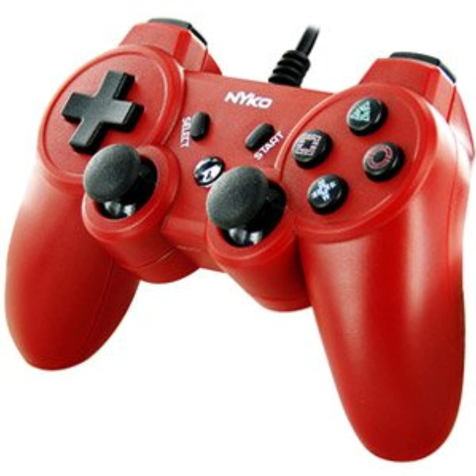 Nyko Core Controller For PS3 Red For PlayStation 3