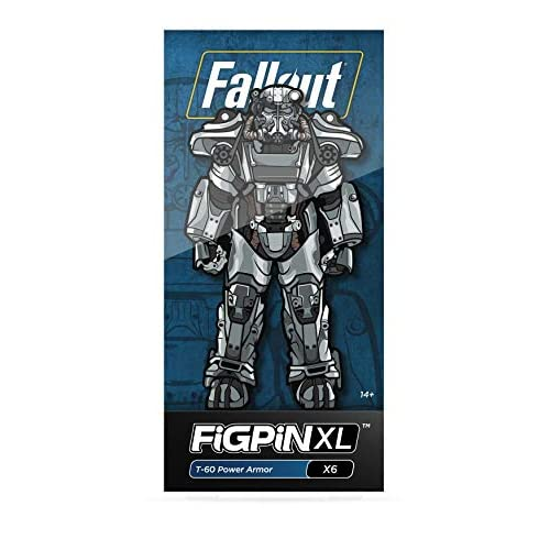 Figpin Fallout: T-60 Power Armor XL Collectible Pin Not Machine Specific Toy