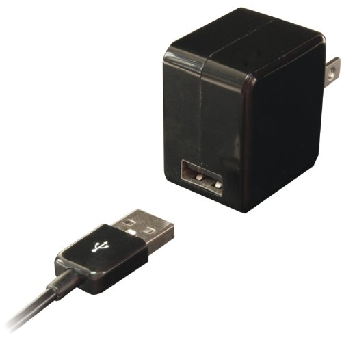 Iessentials Single USB Wall Charger With 30-PIN Charge/sync Cable