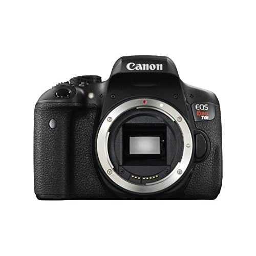 Canon EOS Rebel T6I Digital SLR Body Only Wi-Fi Enabled Camera