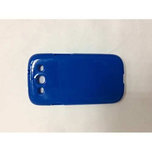 Soft Case For Samsung Galaxy S3 Blue Cover Fitted