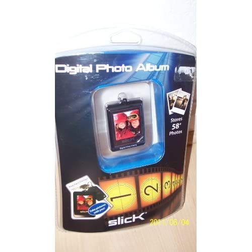 Slick Digital Photo Album Keychain Camera AUU330