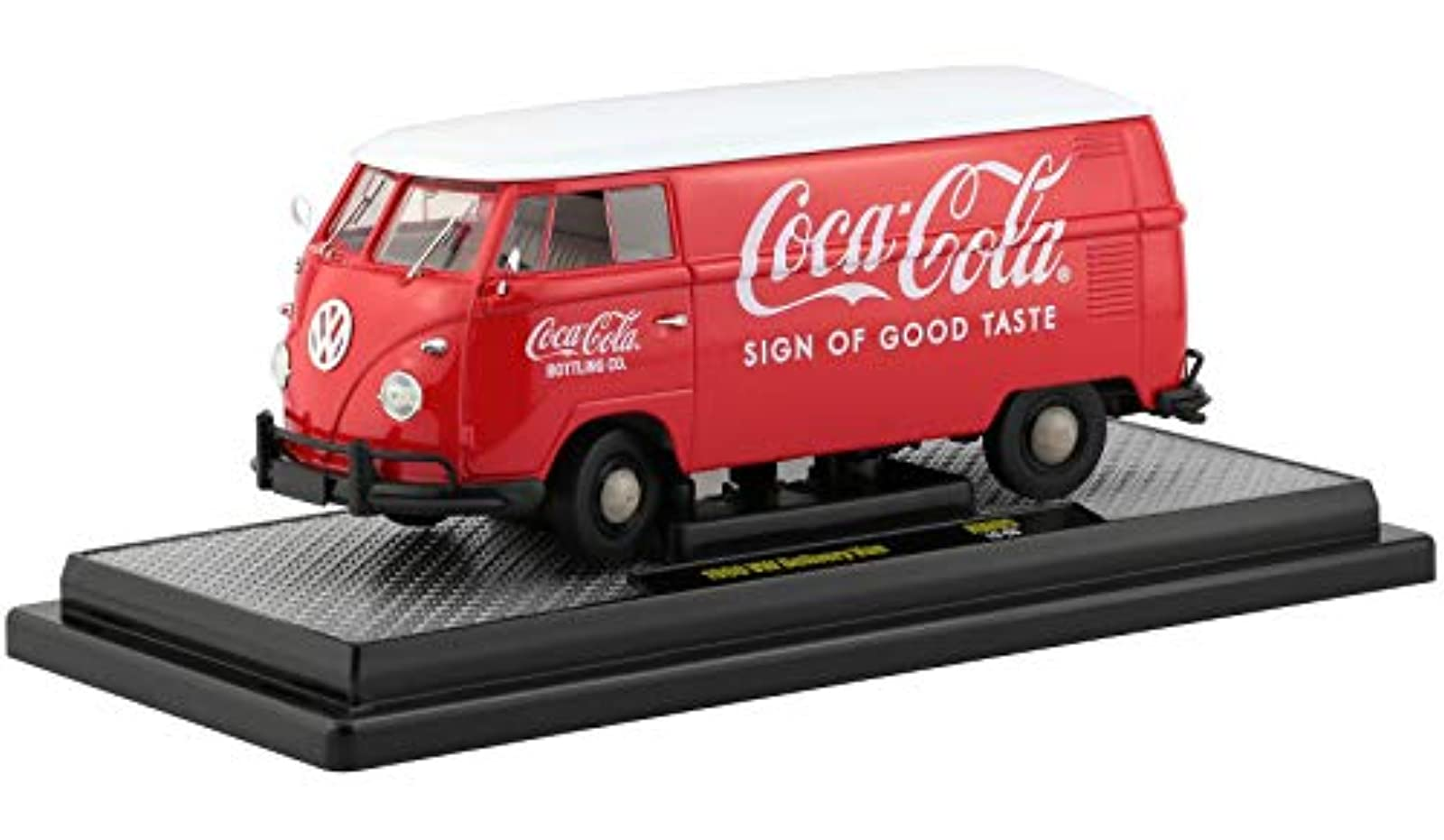 1960 Volkswagen Delivery Van Coca-Cola Red With White Top Limited Edition To 200