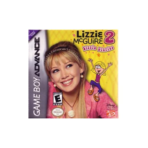 Lizzie Mcguire 2 Lizzie Diaries GBA Disney Action For GBA Gameboy