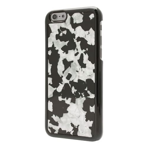 End Scene Black With Shinning Inlay Case Cover For iPhone 6 6S
