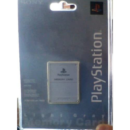 Image 0 of Sony OEM Memory Card Gray PlayStation PS1