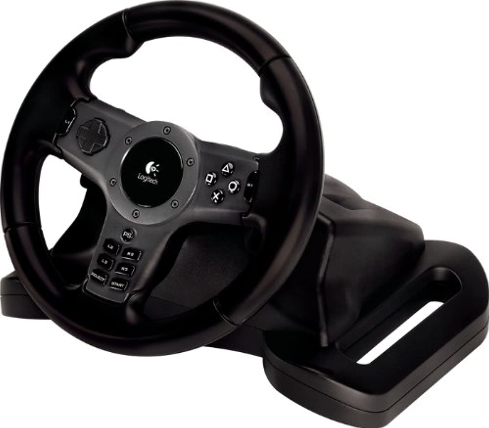 Logitech Driving Force Wireless For PS3 PS3 For PlayStation 3 Black Racing E-X5D