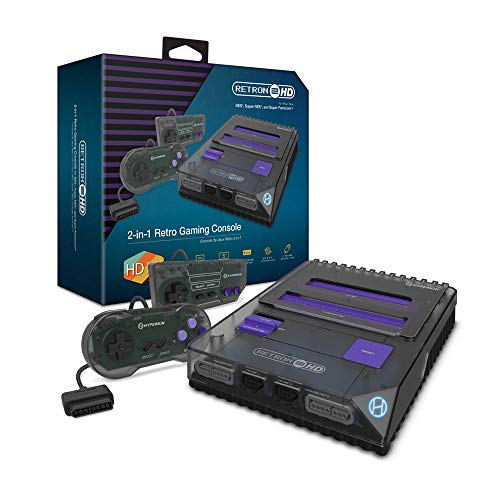 Hyperkin Retron 2 HD Gaming Console For NES/ Super Famicom Space Black