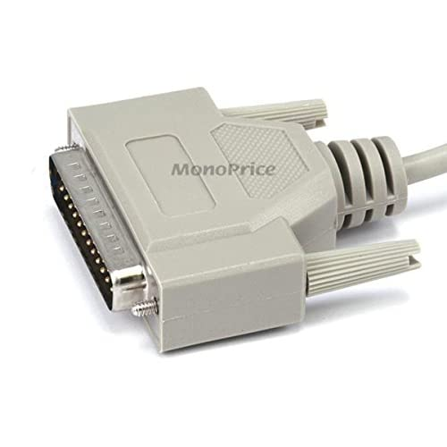 Image 2 of 6-FEET At Modem DB9F/DB25M Molded Cable 100462