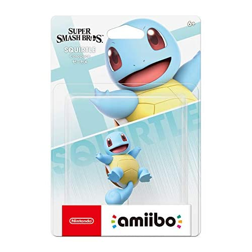 Nintendo Amiibo Squirtle Super Smash Bros Series Switch For Nintendo Switch Figu