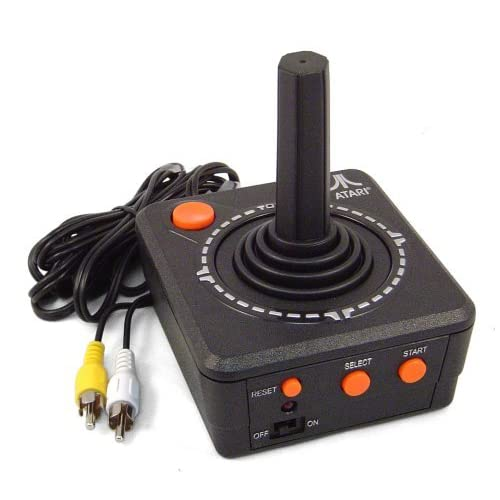 Atari Plug And Play TV Game Console Black Home COC180