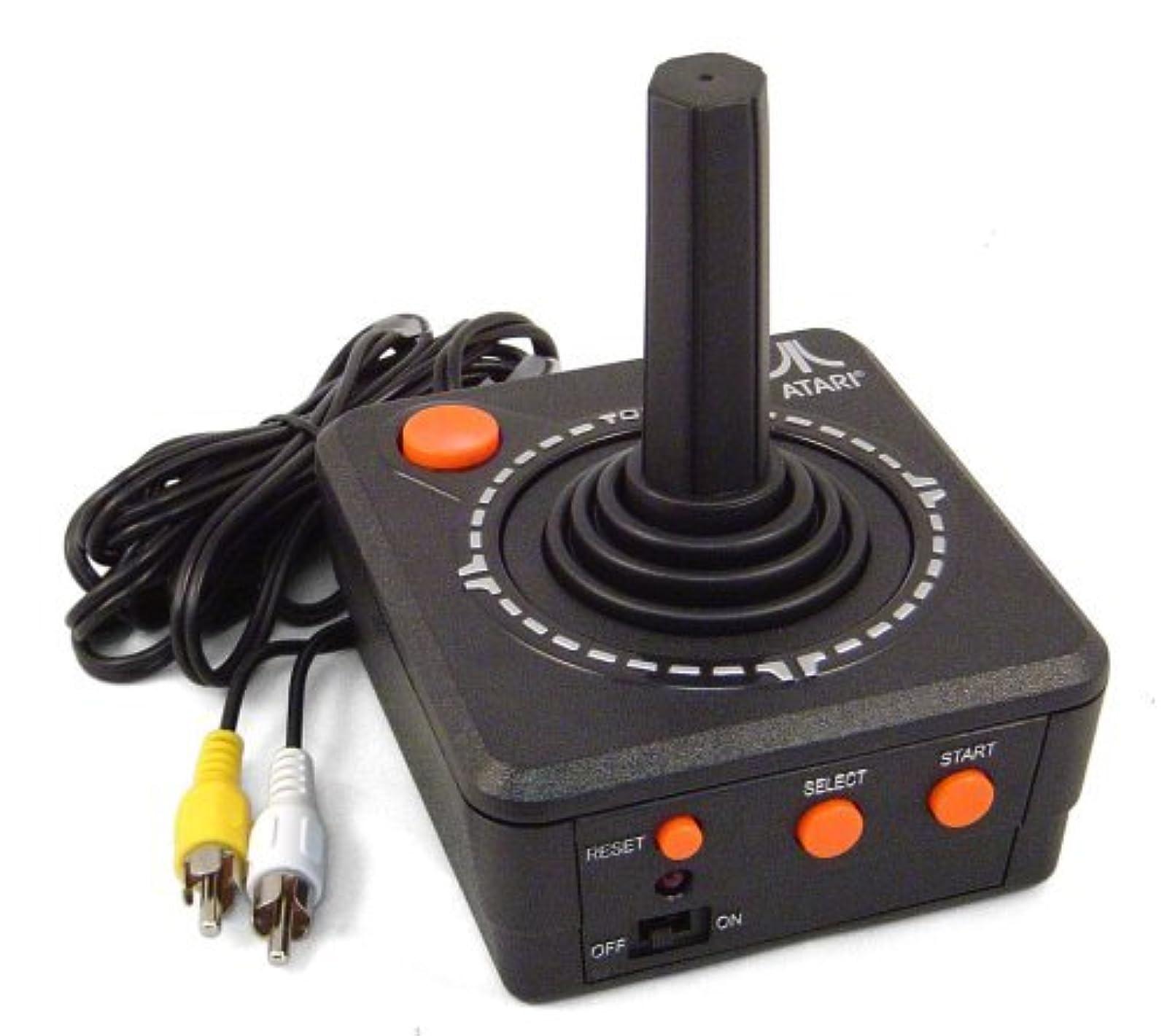 Atari Plug And Play TV Game Console Black Home COC180